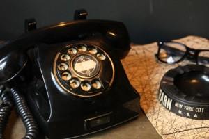 bakelit-telefon