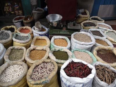 beans in katmandu
