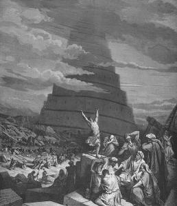 La confusion des langues by Gustave Doré