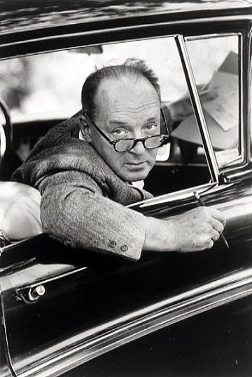nabokov in car