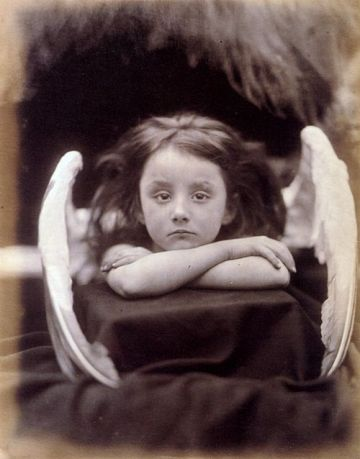 """I wait"", by Julia Margaret Cameron."