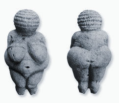 Venus of Willendorf, ca 24,000 BC.