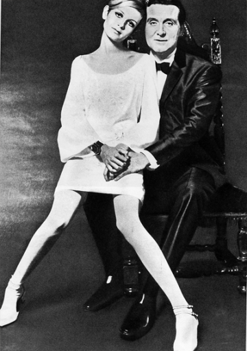 john steed and twiggy