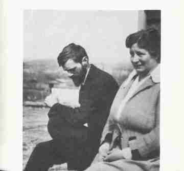 D.H. and Frieda Lawrence
