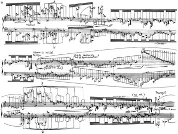 "Score from ""English Country Tunes"" by M Finnissy. Click on score for audio."
