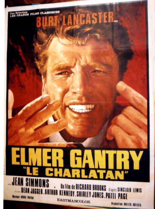 "a review of sinclair lewis elmer gantry Elmer gantry review the protagonist of the sinclair lewis novel, ""elmer gantry,"" is a sham preacher who uses the church pulpit to advance his ."