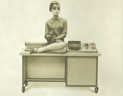 Cover photo for a 1964 brochure for the PDS 1020 Digital Computer