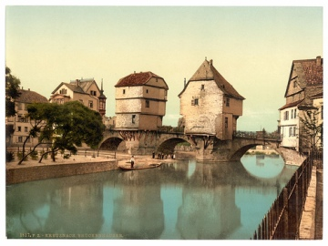 bad kreuznach bridge houses