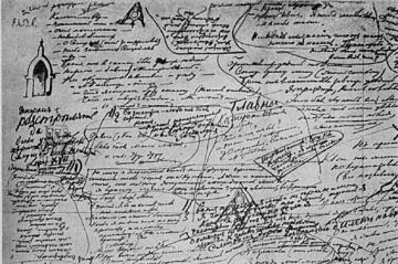 "Dostoevsky's notes for chapter 5 of ""The Brothers Karamazov"""